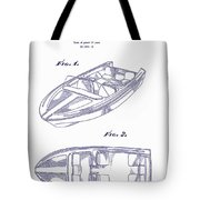 Glasspar 1960 California Boat Tote Bag