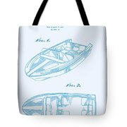 Glasspar 1960's California Boat Tote Bag