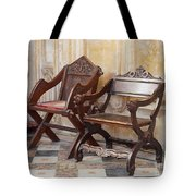 Glastonbury Chairs Tote Bag