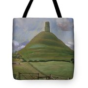 Glastonbury Tor Tote Bag