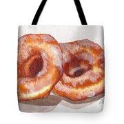 Glazed Donuts Tote Bag
