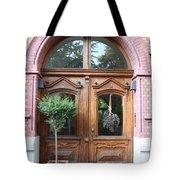 Glazed Door Tote Bag