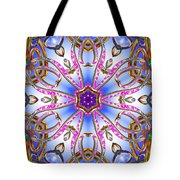 Gleaming Flower Bands Tote Bag