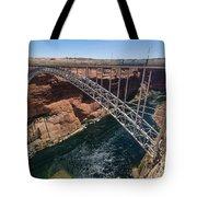 Glen Canyon Dam Bridge Tote Bag