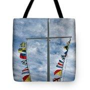 Glen Cove American Flag Tote Bag