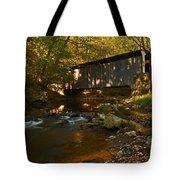 Glen Hope Covered Bridge Tote Bag