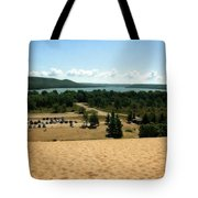Glen Lake From The Dune Climb Tote Bag