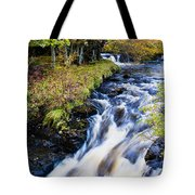 Glenbrittle Waterfall Tote Bag