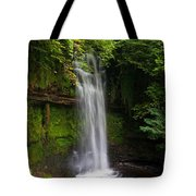 Glencar Waterfall Is Situated Tote Bag