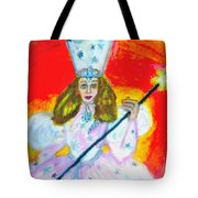 Glenda The Good Witch Of Oz Tote Bag