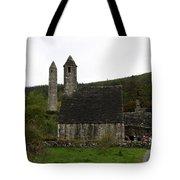 Glendalough Cloister Ruin - Ireland Tote Bag