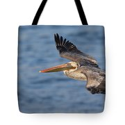gliding by Pelican Tote Bag