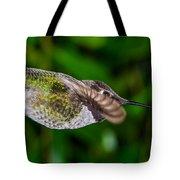 Gliding Hummingbird Tote Bag