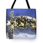 Gliding Sea Turtle Tote Bag