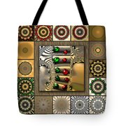 Glimmering Afternoon Redux Tote Bag