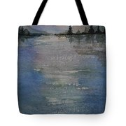 Glimmering Water Tote Bag