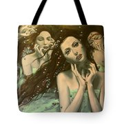 Glissando Tote Bag by Dorina  Costras
