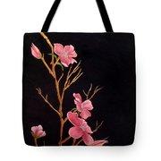 Glistening Blossoms Tote Bag