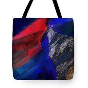 Glitchscape - Liquefaction Tote Bag