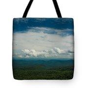 Globe And Sky Tote Bag