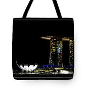 Gloden Night Tote Bag