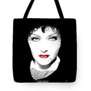 Gloria Swanson - Edith Piaf Tote Bag