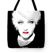 Gloria Swanson - Marlene Dietrich Tote Bag