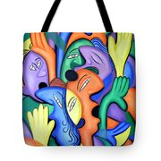 Glorify His Name Tote Bag by Anthony Falbo