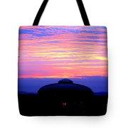 Glorious Boston Sunrise Tote Bag