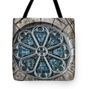 Glorious Church Stained Glass Tote Bag