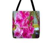 Glorious Gladiolus Tote Bag