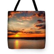 Glorious Rays Tote Bag