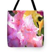 Glorious Summer Gladiolus Tote Bag