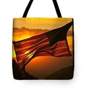 Glory At Sunset Tote Bag