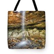 Glory Hole Waterfall Portrait Tote Bag