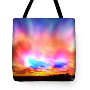 Glory Sunset Tote Bag