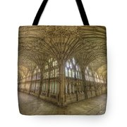 Gloucester Cathedral Cloisters Tote Bag