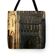 Gloucester Cathedral Entrance Tote Bag