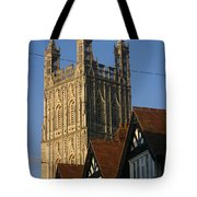 Gloucester Cathedral Spire Tote Bag