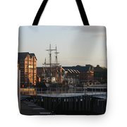 Gloucester Docks 3 Tote Bag