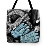 Gloves And Frost Tote Bag