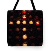 Glow Of A Cross Tote Bag