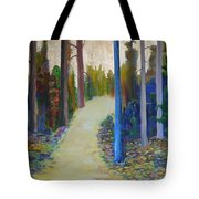 Glow Of Spring Tote Bag