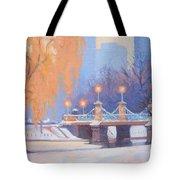 Glow On The Bridge Tote Bag