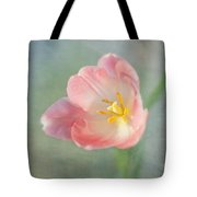 Glow Within-pink Tulip Tote Bag