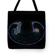 Glowing Choo Choo In Lights Abstract  Tote Bag