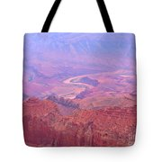 Glowing Colors Of The Grand Canyon Tote Bag
