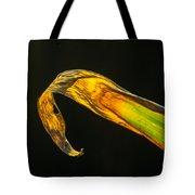 Glowing Corn Leaf Tote Bag