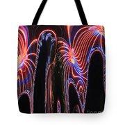 Glowing Curves Tote Bag