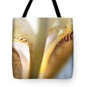 Glowing Details. Macro Iris Series Tote Bag